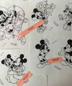 Minnie & Mickey uro / Lap på lap