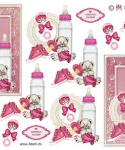 Børn / Babypige ting i ramme / Hm Design