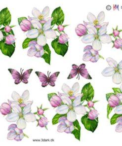 Blomster / Æbleblomster / Hm Design