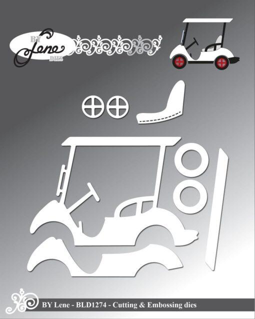 Dies / Golf cart / By Lene
