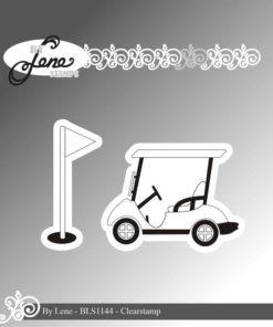 Stempel / Golf cart / By Lene