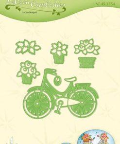 Dies / Cykel med kurv / Leane die