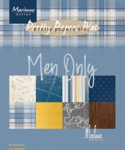 Karton A5 / Men only / Marianne Design