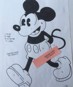 Mickey Mouse / Lap på lap