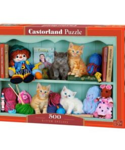 Puzzlespil / Killinger på hylde, 500 brikker
