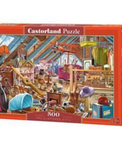 Puzzlespil / Det rodede loft, 500 brikker