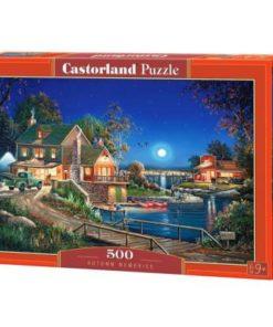 Puzzlespil / Efterårsaften, 500 brikker