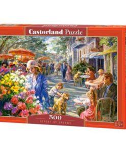 Puzzlespil / Hyggelig gade, 500 brikker