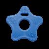 Stjerneformet bidering i blå