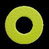 Rund bidering i limegrøn