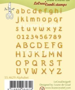 Stempel / Alfabet & tal / Leane