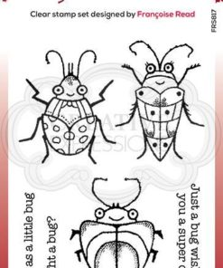 Woodware clearstamp / Cute bugs