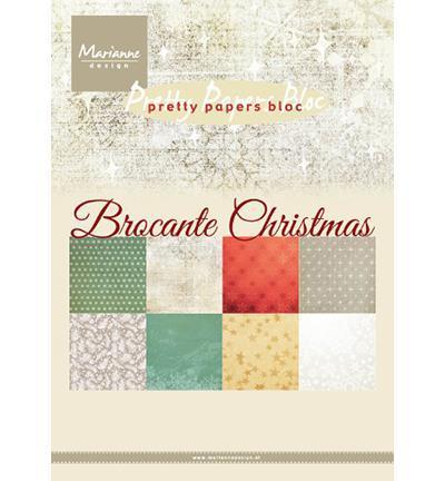 Karton A5 / Brocante christmas / Marianne design
