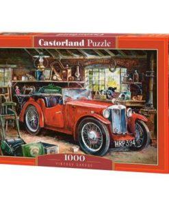 Puzzlespil / Bil i garage / 1000 brikker