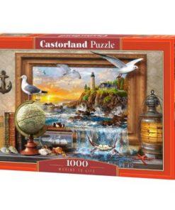 Puzzlespil / Livet ved havet / 1000 brikker