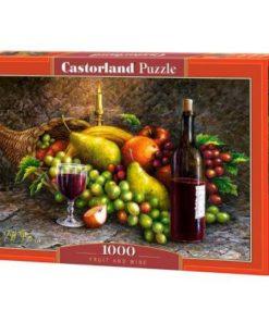 Puzzlespil / Frugt og vin / 1000 brikker