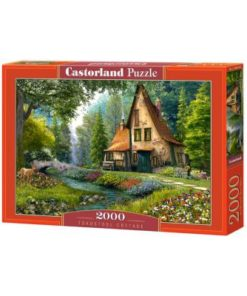 Puzzlespil / Skovhytten / 2000 brikker