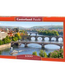 Puzzlespil / Prags broer / 4000 brikker