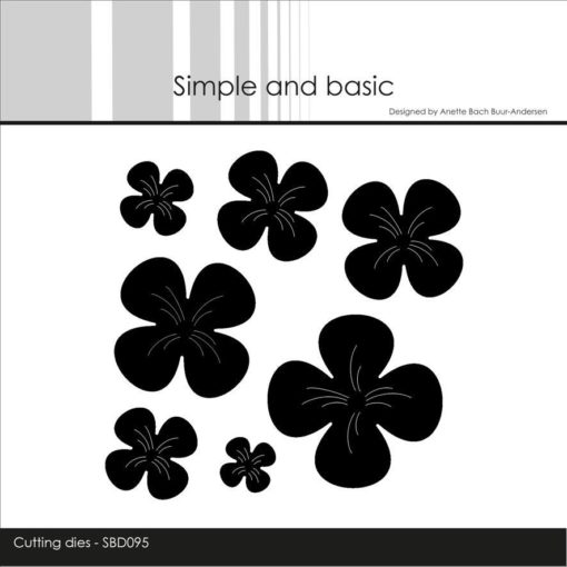 Dies / Blomster / Simple and basic