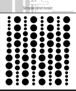 Enamel dots / Black / Simple and basic
