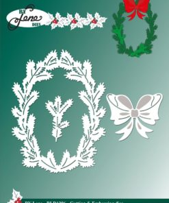 Dies / Holly wreath / By Lene