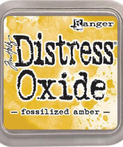 Distress oxide / Forssilized amber