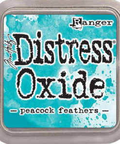 Distress oxide / Peacock feathers