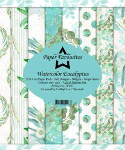 Karton 15x15 / Eucalyptus / Favourites