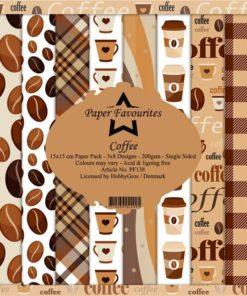 Karton 15x15 / Coffee / Favourites