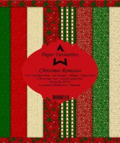 Karton 15x15 cm / Christmas romance / Favourites