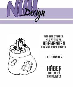 Stempel / Julemandens sæk / NHH Design