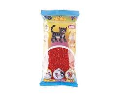Hama midi perler, 6000 stk / Rød