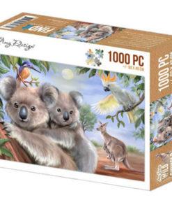 Puzzlespil / Koalabjørne / 1000 brikker