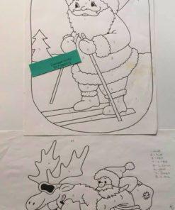 Uro / Nisser på ski / Lap på lap