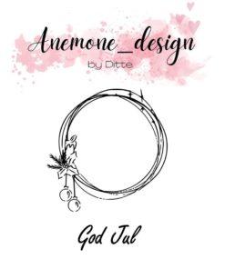 Stempel / God jul / Anemone Design