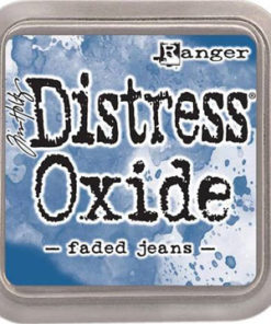 """Distress oxide 3"""" x 3"""" / Faded jeans"""