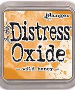 "Distress oxide 3"" x 3"" / Wild honey"