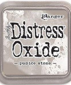 "Distress oxide 3"" x 3"" / Pumice stone"