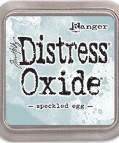 "Distress oxide 3"" x 3"" / Speckled egg"