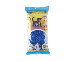 Hama midi perler, 6000 stk / Lysblå