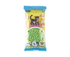 Hama midi perler, 6000 stk / Pastel grøn