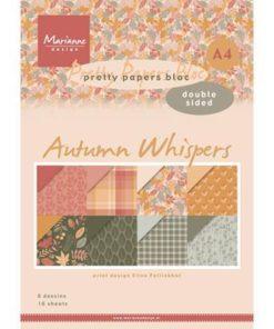 Karton A4 / Autumn whispers / Marianne Design