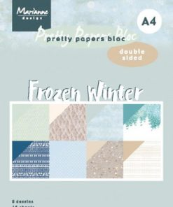 Karton A4 / Frozen winter / Marianne Design