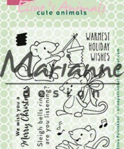 Stempel / Christmas mice / Marianne Design