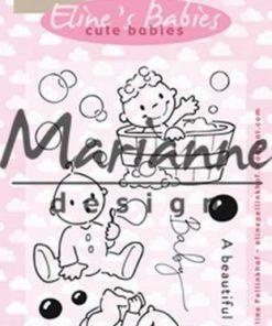 Stempel / Cute babies / Marianne Design