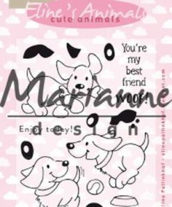 Stempel / Cute puppies / Marianne Design