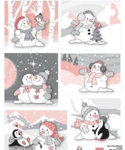 Jul / Snowman / Marianne Design