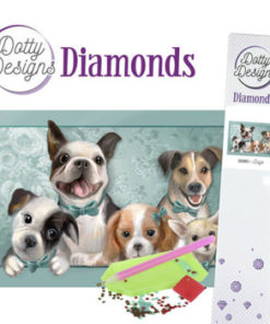 Diamant sæt / Hunde / Dotty Design