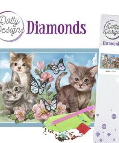 Diamant sæt / Katte / Dotty Design