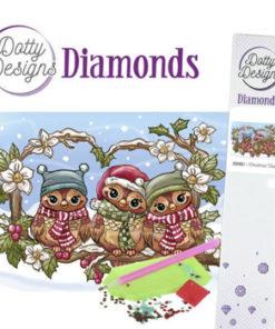 Diamant sæt / Juleugler / Dotty Design